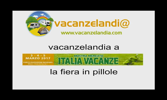 italia vacanze 2017 video fiera