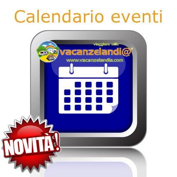 calendario eventi vacanzelandia novita
