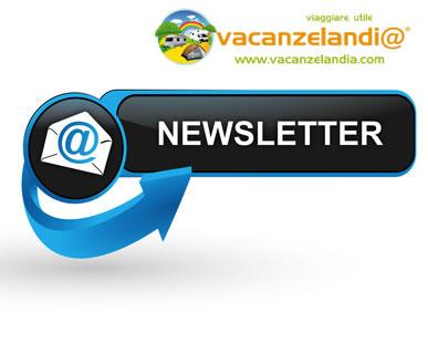 newsletter vacanzelandia new