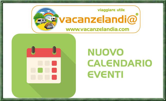 nuovo calendario eventi