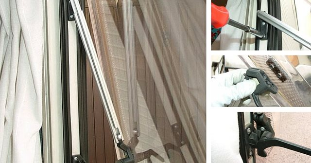 Sostituzione del braccio della finestra camperisti svitati for Finestra scorrevole camper