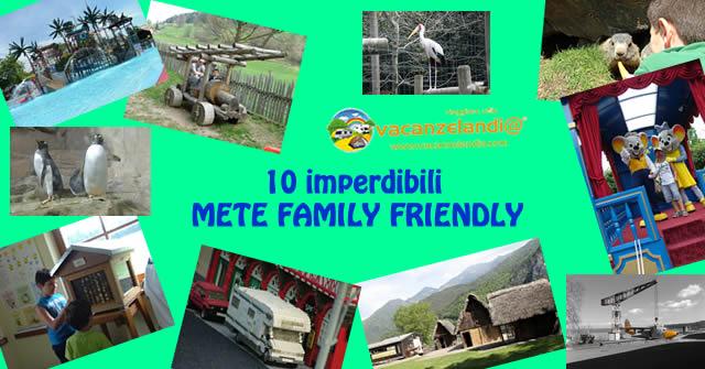 10 imperdibili mete family friendly