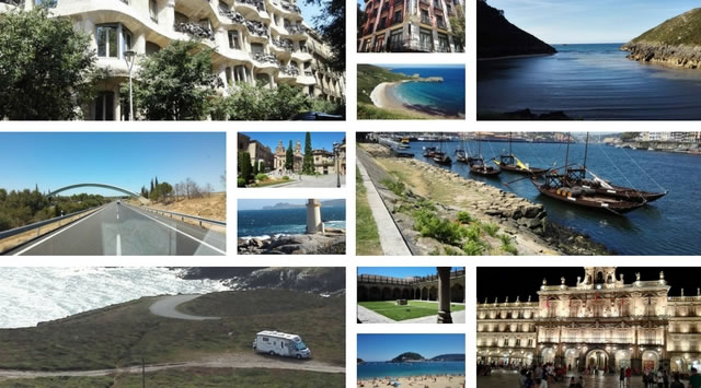 spagna nord collage