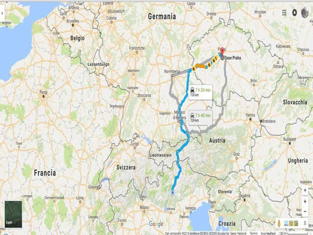 Germania Cartina Fiumi.Fiume Tedesco Piu Impotente Rinasce Berlino