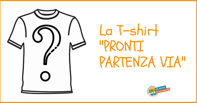 t shirt pronti partenza via