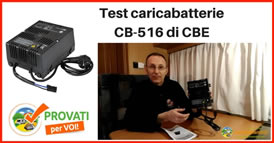 cbe caricabatteria cb516 provato 274s