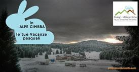vacanze pasquali in Alpe Cimbra 274s