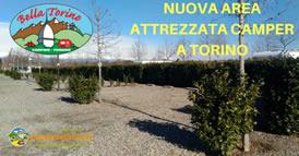 area attrezzata camper bella torino 274s