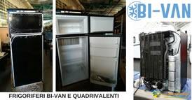 frigoriferi camper bi van quadrivalenti 274s