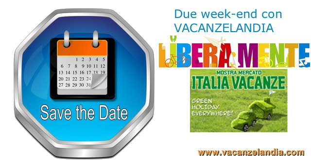 save the date doppio appuntamento vacanzelandia