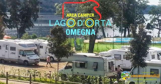 area camper lago orta 1