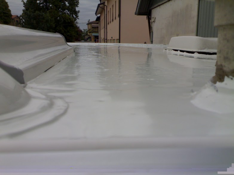 Clinic camper liquid roof