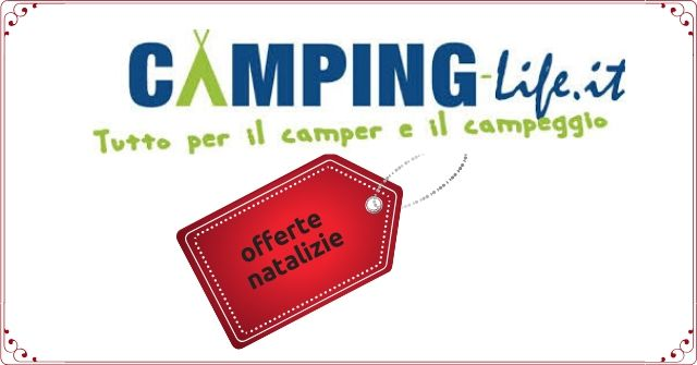 camping life offerte natalizie