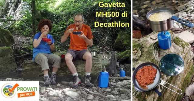Test gavetta MH500 Decathlon