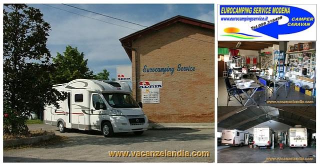eurocamping service modena