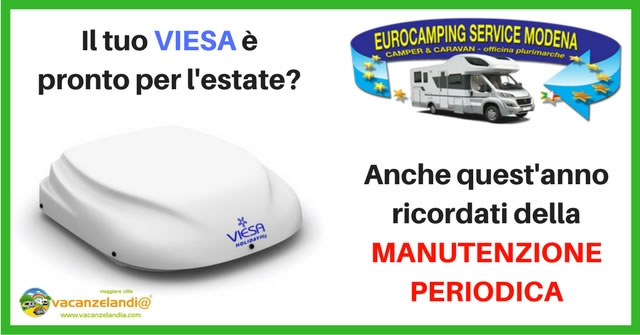 eurocamping service modena manutenzione periodica viesa