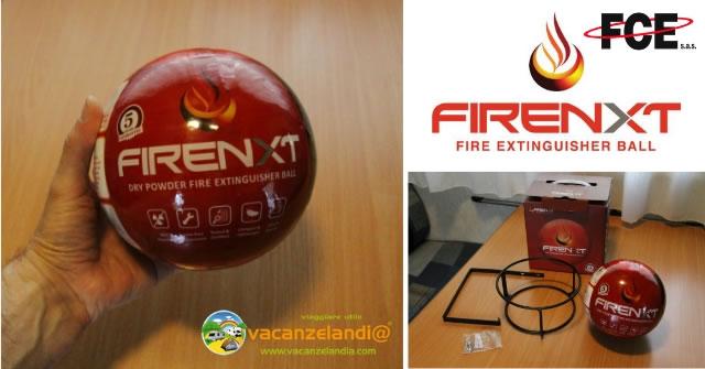 firenxt sfera antincendio camper casa fce