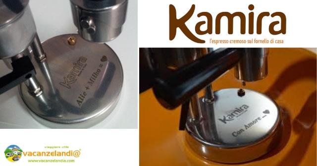 kamira incisione personalizzata