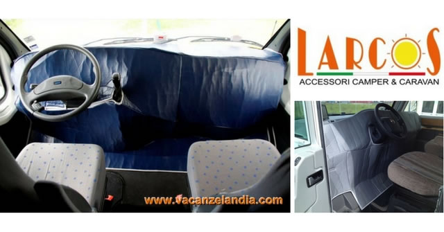 larcos copricruscotto coverhood camper inverno