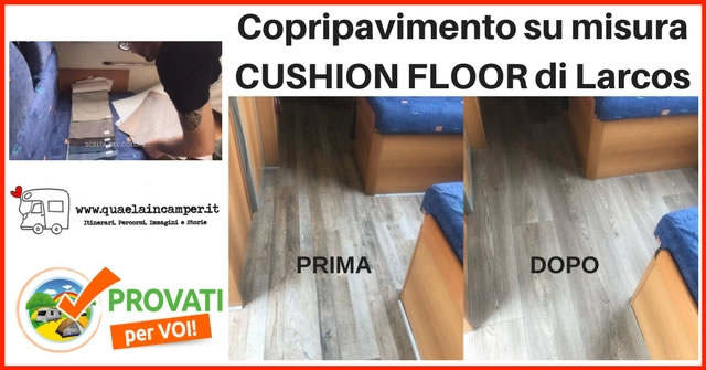 larcos cushion floor provato
