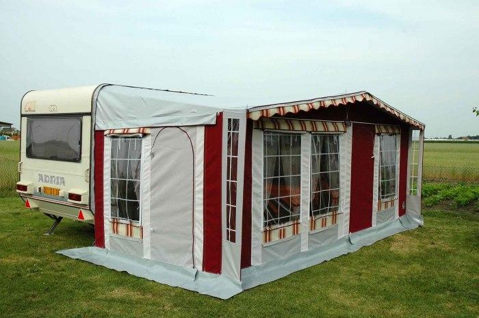 Vetrina di prodotti verande caravan e camper preingressi invernali caravan e - Veranda pour roulotte ...