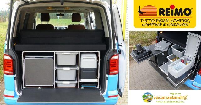 Trasforma Furgone Suv Van In Camper Con Camping Box Di Reimo