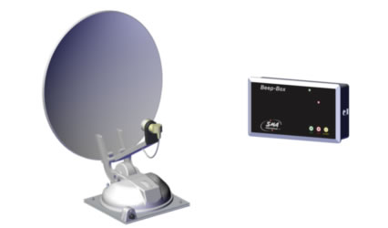 antenna satellitare automatica camper si techno media