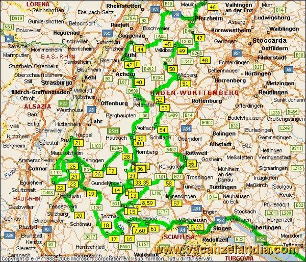 Itinerari diari di viaggio germania foresta nera for Pianta della foresta di pioppo