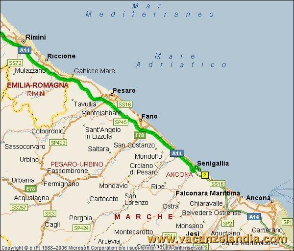 Cartina Italia Senigallia.Diario Di Viaggio A Senigallia
