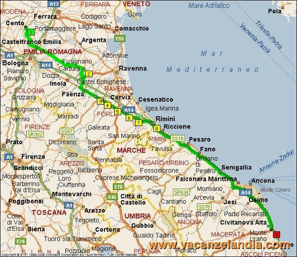 Cartina Emilia Marche.Vacanzelandia Itinerari Diari Di Viaggio Marche Umbria Parco Nazionale Dei Monti Sibillini 1o Giorno