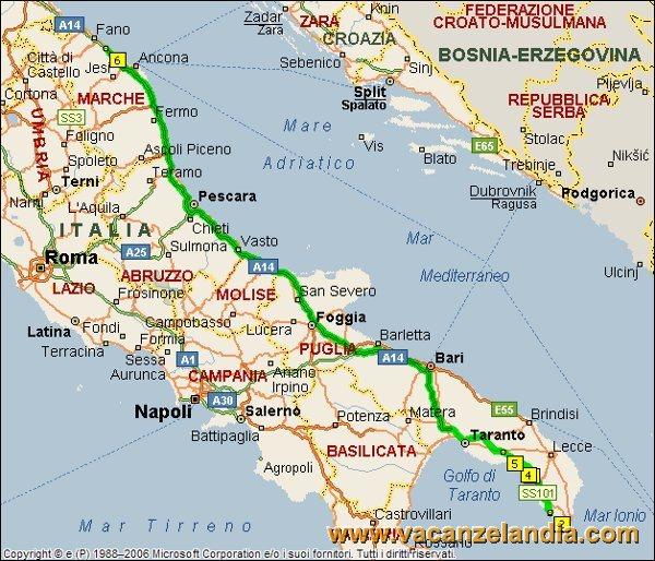 Cartina Puglia Grecia.Vacanzelandia Itinerari Diari Di Viaggio Puglia Salento 16o Tappa