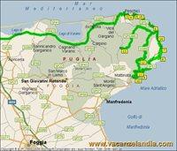Cartina Puglia Zona Gargano.Vacanzelandia Itinerari Diari Di Viaggio Puglia Gargano