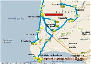 mappa toscana san vincenzo